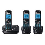 PANASONIC Cordless Phone [KX-TG5523] - Black - Wireless Phone